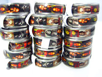 Brand New 36PCs Bob Marley Rasta Jamaica Reggae Stainless Steel Men's Band Jewelry Rings wholesale lots