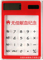 Factory supply transparent touch screen Calculator Calculato...