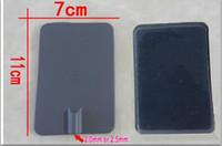 10st 7 * 11cm Stora vita kiselgummielektroderkuddar med all vädergel för muskelstimulering TEN / EMS Massage Machine