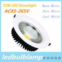 LED COB Downlight COB LED Downlight Dimmable 5W 7W 12W 15W 2...