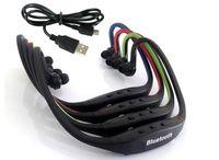 S9 Kablosuz Kulaklık Stereo Kulaklık Spor Bluetooth Hoparlör Boyun Bandı Peal beyaz opp paketi 30 adet / grup