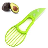 2016 heißer Verkauf 3-in-1 Avocado Slicer Obst Avocado Cutter Corer Slicer Gute Küche Gadgets Kochen Werkzeug Zubehör