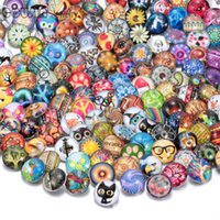Hot wholesale 200pcs lot High quality Mix Many styles 18mm G...