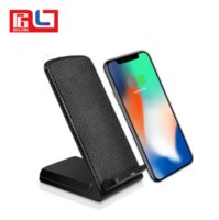 Fast Qi Wireless Charger Holder Stand For Samsung S8 Iphone ...