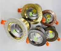 Ultra gorgeous Dimmable LED COB Downlight AC110V 220V 10W 15...