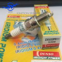 Бренд (4X) подлинная Denso свеча зажигания Япония иридий 5308 ZXU22PR11 5308 09482-00602 для альт всплеск Агила Pixo 1.0 Swift всплеск Агила