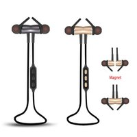 Y522 Bluetooth 4. 1 Headset With Magnetic Earbuds HD Micropho...