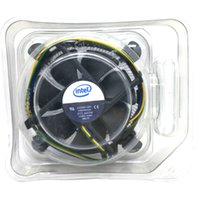 New Original pour Intel 1155 1156 1150 775 radiateur en aluminium 4 fils PWM ordinateur CPU Cooler fan