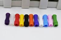 일회용 510 드립 팁 마우스 피스 실리콘 커버를 들어 VAPE 기화기 시험 목적 분무기 E CIG는 개별적으로 높은 품질 DHL 포장