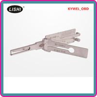LISHI HU100R 2-en-1 Auto Pick et décodeur, lock lock, outil de serrurier livraison gratuite