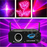LH-SAM600 600MW 핑크 컬러 애니메이션 크리스마스 야외 및 실내 용 레이저 조명