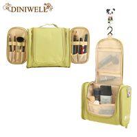 Vente en gros - DINIWELL Portable femmes imperméable cosmétique maquillage organisateur de stockage sac pour le camping vacances voyage à l'extérieur