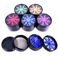 Metal Tobacco Smoking Herb Grinders 63mm Aluminium Alloy Gri...