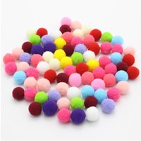 500pcs lot 20mm multi colors options Pompom Wedding Decorati...