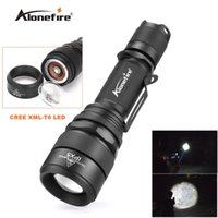 Alonefire G910 CREE XM- L T6 LED 5mode actical Zoomable SB Fl...