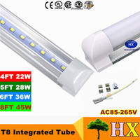 1ft 2ft 3ft 4ft 5ft 6ft 8ft T8 Led Tubes Light 18W 22W 28W 3...