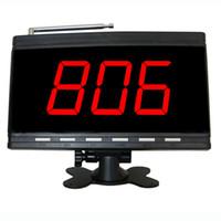 SINGCALL خدمة الترحيل الثابت شاشة الاستقبال لمطعم المصنع. (APE9500B)