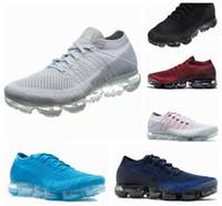 innovative design 7d686 57ee3 Vapormax Mens Scarpe da corsa per uomo Sneakers da donna Moda atletica  Scarpa sportiva Hot Corss da trekking da jogging a piedi all aperto Boost  Shoes