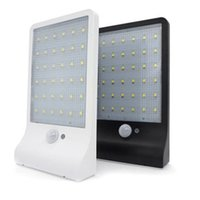 Outdoor Street Waterproof Wall Lights 450LM 36 LED Solar Pow...