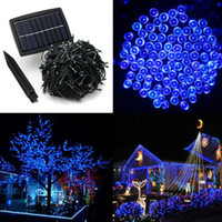 50M 500 LED Solar Powered Light Strip per Xmas Festival Lights String batterie ricaricabili per decorare il giardino