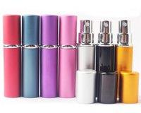 Atomizzatore di bottiglie di alluminio caldo spray spray 5ml di nuovo arrivo per mini atomizzatore di profumo promozione con spray sigillato