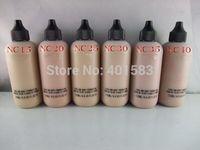 72pcs / lot-heißer Verkauf Neue Kosmetik Facebody Foundation Lotion 120ml Gesicht Flüssig Foundation Creme Make-up Großhandel Kostenloser DHL Versand