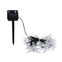 Umlight1688 Solar alimentado Natal Libélula LED Luzes Da Corda 30 LEDs 6 cores À Prova D 'Água de Iluminação De Fadas Árvores de Natal luz Do Jardim