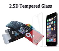 Gehard Glass Screen Protector Film voor iPhone 5 5S 6 6 S Plus Samsung S6 Plus LG G4 G5 HTC M9 Plus Sony Z5 Premium met retailpakket