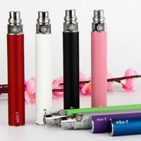Ego Vape Stylo Ecigarette Ego-T Vaporisateur Batterie E-CIG 650 900 1100MAH Pour 510 Thread CE4 MT3 H2 Atomisateurs Cartomizer Ecig Vaporisateur