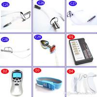 Diy Electric Urethral Sound M Ager Slim Pulse Stimulate Electro Shock Urethral Catheter Plug Dilator Toys For Men A243 2 C