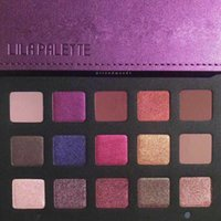15 color EyeShadow Palette Purple Gold Eye Shadow Palette + ...