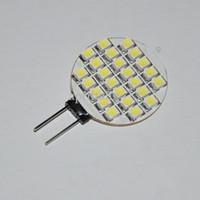 Hot 24 LED SMD rackle Light Marine light plep light g4 12 v 3528 good price 20 PC / lot free shipping