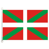 Bask Ülkesi Bayrağı Afiş 3X5FT-90x150 cm 100% Polyester, 110gsm Çözgü Örme Kumaş Açık Bayrağı
