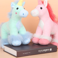 2017 new Unicorn plush doll, cute unicorn, pony plush doll, ...