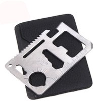 Outdoor Multifunction Stainless Steel Card EDC Tool Camping ...