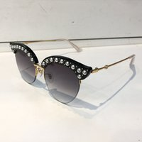 0212 Sunglasses Luxury Women Brand Designer 0212S Cat Eyes P...