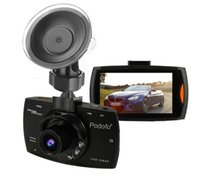 Podofo cámara de coche DVR G30 Full HD 1080P 140 grados registradores de vídeo Dashcam para coches Night Vision G-Sensor Dash Cam