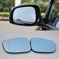 Voor Suzuki Swift Auto Gloednieuwe Hoogwaardige Achteruitkijkspiegel Groothoek Hyperbola Blue Mirror Pijl LED Draaien Signaallichten