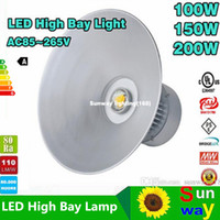 ul 150 watt 200 watt 100 watt 80 watt 50 watt led High Bay Light led-licht LED industrielle licht hohe bay fitting bridgelux45mil DHL freies verschiffen