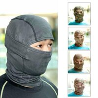 Camouflage Hunting Cycling Motorcycle Outdoor Balaclava Tact...