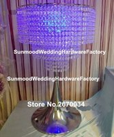 ترتيب زهرة اصطناعية الوقوف المركزية الزفاف الجدول للديكور الحدث
