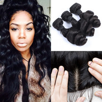 Bleached Knots 13x4 Silk Base Lace Frontal Closure With 3 bu...