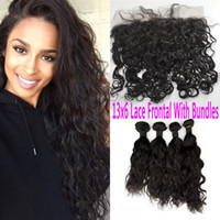 Bleached Knots 13X6 Lace Frontal Closure With Bundles Virgin...