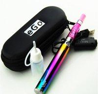 Ego CE4 Starter Kit Rainbow Vision Spinner E Zigarette E-Zigarette Kit 650mAh 900mAh 1100mAh 1300mAh E-Zigaretten-Set Ego Zip Fall Ecig DHL