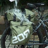 ROSWHEEL Bolsas de bicicleta 37L MTB Mountain Bike Rack Bag 3 en 1 Multifunción Road Bicycle Pannier Bolsa de maletero del asiento trasero