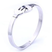 Free Engraving Silver Wrench Bangle Stainless Steel Unisex C...