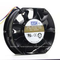 Nuevo original DB15051B48U 150 * 150 * 51 MM 15 cm 48 V 2.30 A doble bola fuente de alimentación de telecomunicaciones ventilador