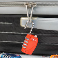 TSA Luggage Strap Locks Digit Plastic Alloy Lock Password Cu...