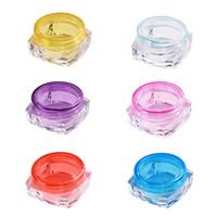 Prix en gros Prix rechargeable Mini 5g Cosmétique Jar Pot de pot à paupières Maquillage de maquillage Crème Crème Lèvre Balm Bouteille de conteneur