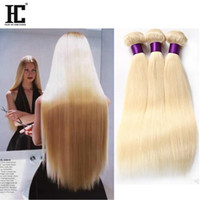 Top Malaysian Virgin Hair Straight Blonde 613 Soft Malaysian...
